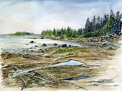 Naskeag Point Original by Jim Norman