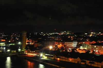Photograph - Nassau At Night by Helen Haw