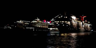 Photograph - Nassau Cruse Ships 2 by Keith Stokes