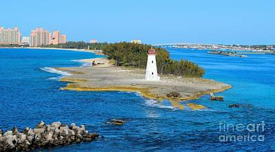 Photograph - Nassau Harbor Lighthouse by Janette Boyd
