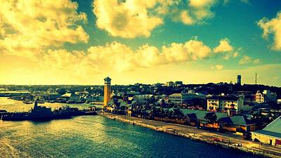 Nassau The Bahamas Art Print