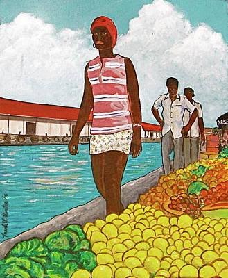 Nassau Woman Art Print by Frank Hunter