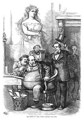 Nast Arrest Of Tweed, 1871 Art Print by Granger