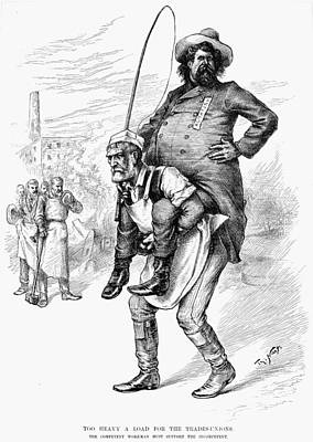 Nast Painting - Nast Haymarket Riot, 1886 by Granger