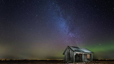 Milky Way Wall Art - Photograph - Nasty Light Pollution by Harri Aho