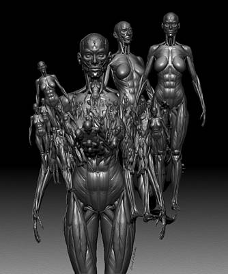 Rhythm And Blues Digital Art - Nasty Religion Fanatics 11 E by Sir Josef - Social Critic -  Maha Art