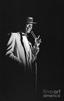 Perform Photograph - Nat King Cole Performing In 1954 by The Harrington Collection