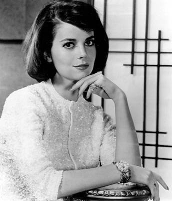 Natalie Wood Hand Under Chin Art Print by Retro Images Archive