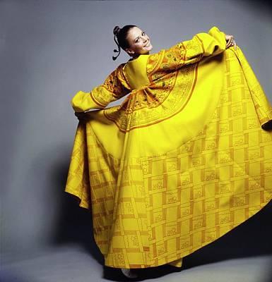 Photograph - Natalie Wood Wearing Zandra Rhodes by Gianni Penati