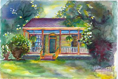 Painting - Natches State Cottage by Patsi Prince