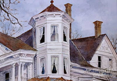 Natchez Painting - Natchez Rooftop by Sherri Crabtree