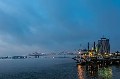 Photograph - Natchez Steamboat In The Morning by Andy Crawford