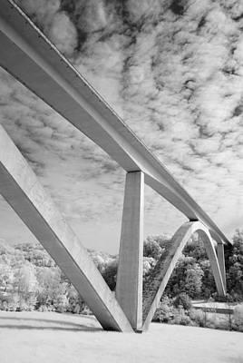 Photograph - Natchez Trace Bridge Xvi by David Morel