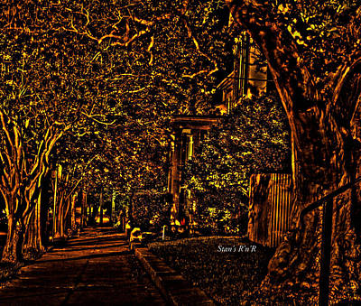 Grimm Fairy Tales Royalty Free Images - Natchez Walkway Royalty-Free Image by Stan  Smith