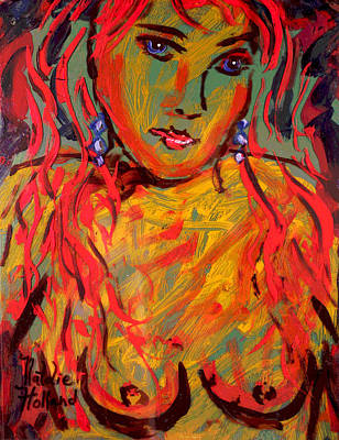Painting - Nathaly by Natalie Holland