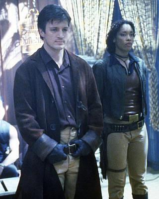 Nathans Photograph - Nathan Fillion In Firefly  by Silver Screen