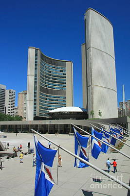 Photograph - Nathan Phillips Square by Frank Townsley