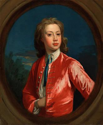Nathaniel Painting - Nathaniel Seymour, Jonathan Richardson The Elder by Litz Collection