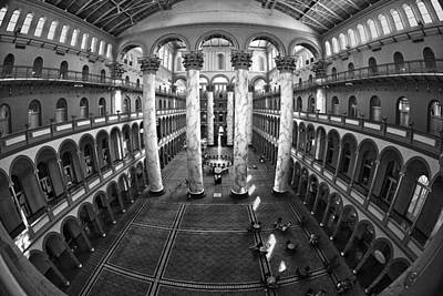 National Building Museum Photograph - National Building Museum by Mitch Cat