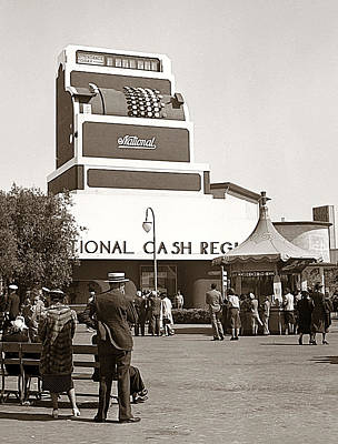 Photograph - National Cash Register by Marilyn Hunt