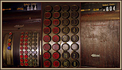 Photograph - National Cash Register by Tikvah's Hope