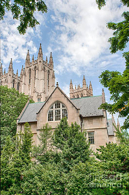 Photograph - National Cathedral Iv by Ray Warren