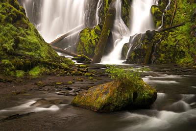 Photograph - National Creek Falls by Dustin  LeFevre