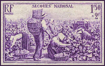 National Emergency Stamp 1 Art Print