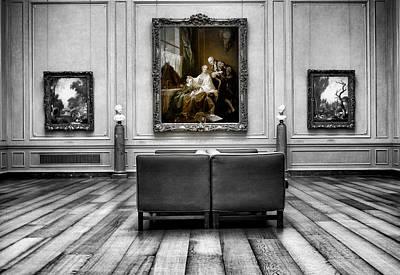 National Gallery Of Art Interiour 1 Art Print by Frank Verreyken