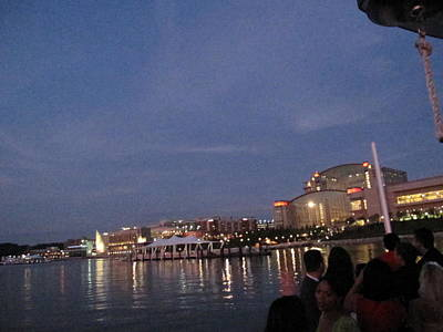 National Harbor - 121223 Print by DC Photographer