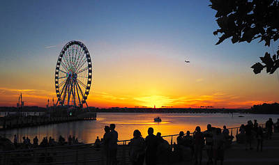 Photograph - National Harbor by MLEON Howard