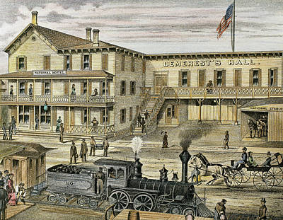 National Hotel  Warwick, 1875 New York Art Print by Prisma Archivo