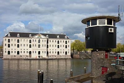 National Maritime Museum In Amsterdam Art Print by Artur Bogacki