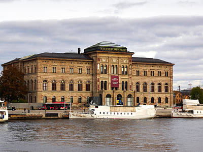 Photograph - National Museum. Stockholm 2014 by Jouko Lehto