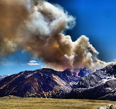 Photograph - National Park Fire by Dan Sproul
