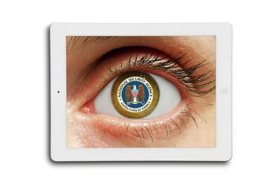 Ipad Photograph - National Security by Victor De Schwanberg