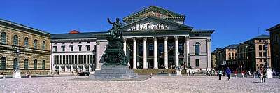 Bavarian Photograph - National Theater Bavarian State Opera by Panoramic Images