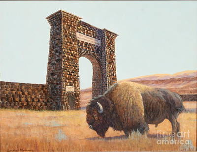 Sandra Williams Painting - National Treasures by Sandra Williams