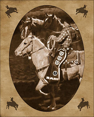 National Western Stock Show Art Print by Priscilla Burgers