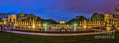 Photograph - National World War II Memorial by Nick Zelinsky
