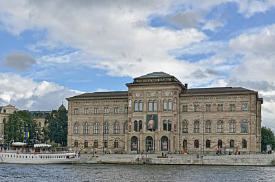 Photograph - Nationalmuseum Stockholm by Marianne Campolongo