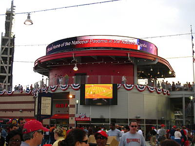Nationals Park - 01131 Art Print by DC Photographer