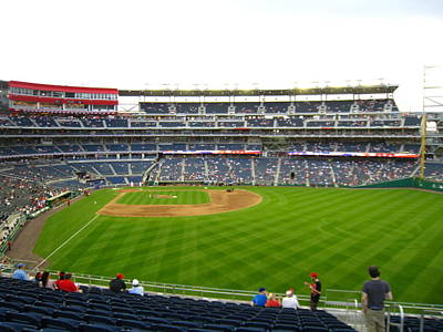 Nationals Park - 01132 Art Print by DC Photographer