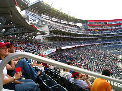 Nationals Park - 01133 Art Print by DC Photographer