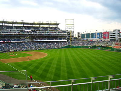 Nationals Park - 01135 Art Print by DC Photographer