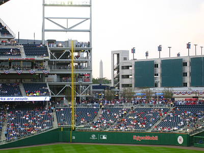 Stadium Photograph - Nationals Park - 01137 by DC Photographer