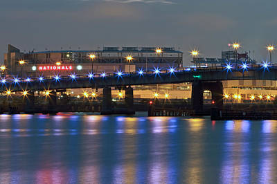 Art Print featuring the photograph Nationals Park by Jerry Gammon