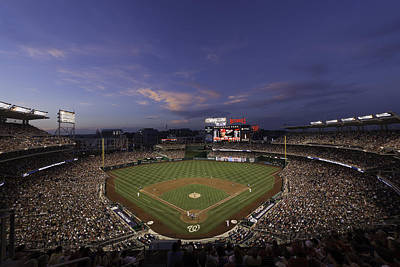 Nationals Park Washington D.c. Art Print