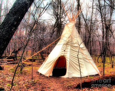 Native American Abode Art Print