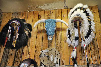 Photograph - Native American Artifacts by Brenda Kean